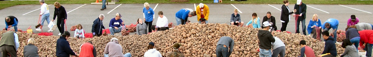 Potato Drop at Mountain View UMC