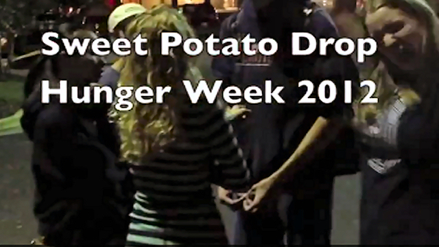 Hunger Week Potato Drop at Auburn University