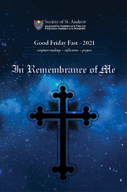 Cover of the Good Friday Fast Booklet