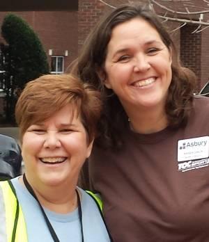 Mary Lynn Botts and Rhonda Dahlin