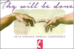 Virginia 2015 Annual Conference Logo