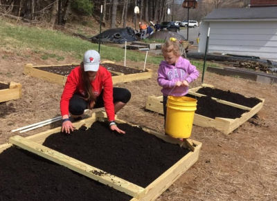 Working a Raised Bed