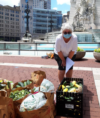 IN - 6 - Market Gleaning Downtown Indy