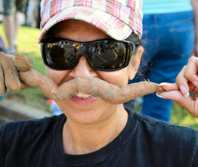 Sweet Potato Mustache